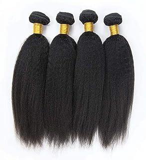 女性130%密度髪織りブラジルの髪バンドル人間の髪バンドルストレートヘア1バンドル非レミー髪