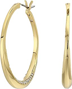 Hinge Hoops Earrings