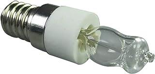 S/J Lámpara De Horno Bombilla De Horno E14 LED 40 Vatios / 50 Vatios 500 Grados Lámpara De Horno Bombillas De Horno, para Hornos Microondas, Refrigeradores, Hornos, Ventiladores Eléctricos