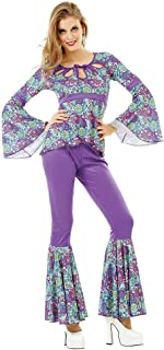 Disco Diva Women's Halloween Costume Foxy 70's Night Fever Funky Boogie Dancer