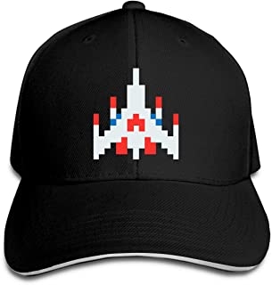 Classic Galaga Baseball Caps Adjustable Sandwich Caps