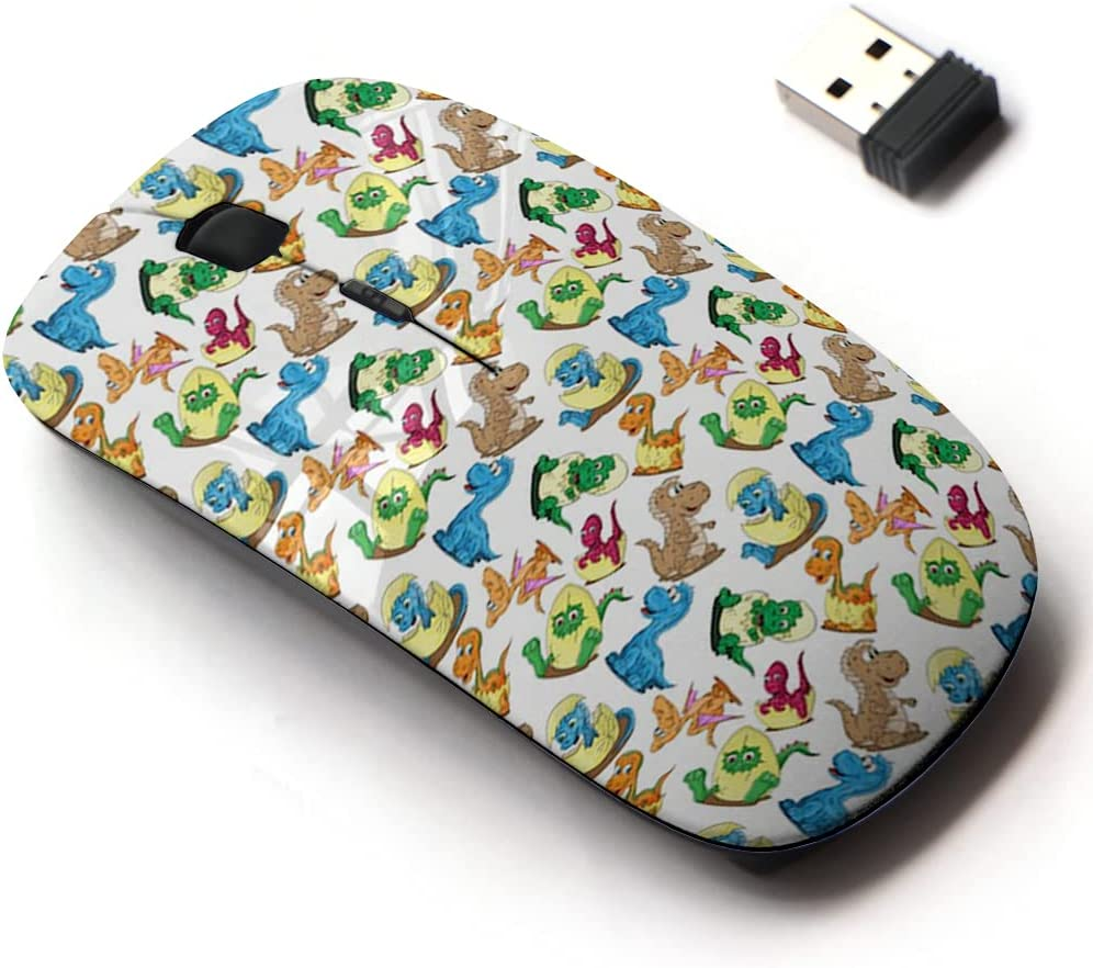 Super popular specialty store 2.4G Wireless Mouse with Cute Pattern All Laptops Free shipping New and for Design