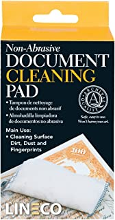 Lineco Doument Cleaning Pad, 2 X 3 inches (782-1004M), Clear,