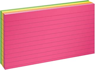 Oxford Neon Index Cards, 3