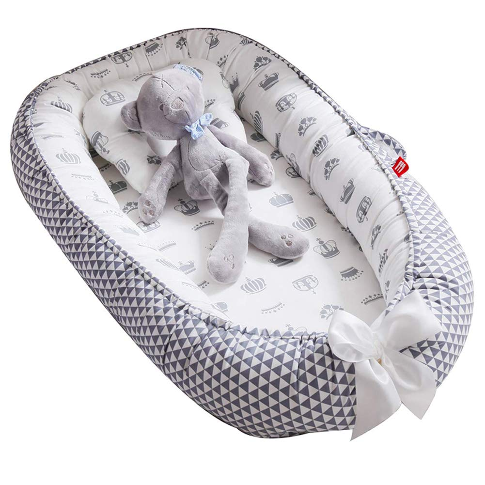 Baby Lounger Nest Max 52% OFF Bassinet for Portable Bed Co-Sleeping Cr Recommendation