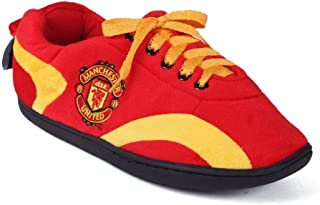 Happy Feet Mens and Womens Officially Licensed Soccer Club All Around Slippers