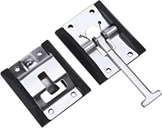 WINOMO RV Trailer Door Holder T-style Entry Door Catch Holder for RV Camper Trailer (304 stainless steel)