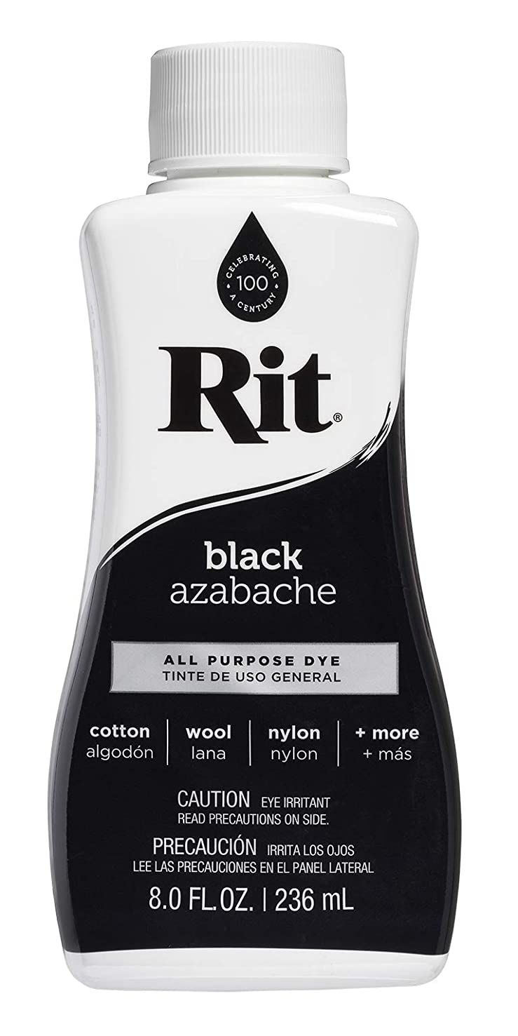 Rit All-Purpose Liquid Dye for Cotton, Linen, Rayon, Silk, Wool, Nylon, Wood and More