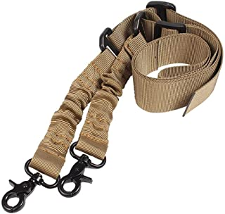 AIRSSON 2 Points Rifle Gun Sling Airsoft Traditional Adjustable Slings Cord Shoulder Strap for Outdoor Hunting Nylon