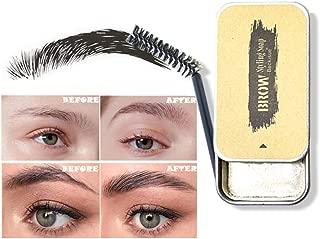 Eyebrow Soap Kit, Brows Styling Soap,4D Brows Gel Long Lasting Eyebrow Setting Gel Waterproof Eyebrow Tint Makeup Balm Pomade Cosmetics
