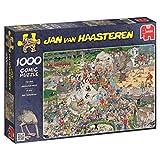 Jumbo Games- Jumbo - Puzzle At The Zoo, 1000 Piezas (01491), Multicolor