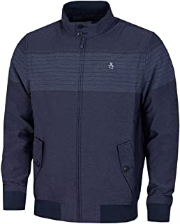 Original Penguin Mens 2021 The V Pete Technical Stand Up Collar Golf Jacket