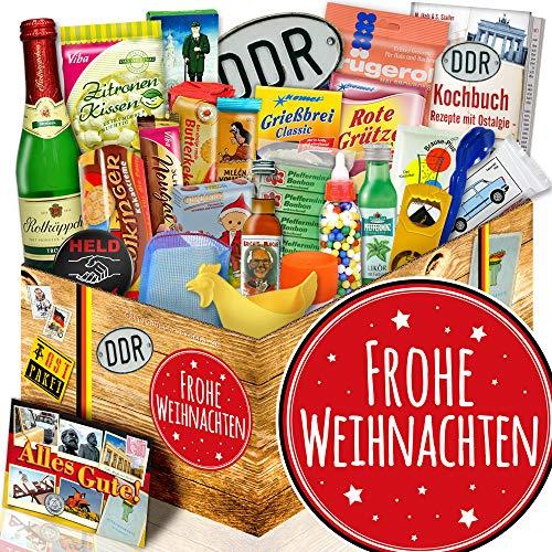 Frohe Weihnachten / DDR Geschenkset 24er Allerlei / Geschenkidee zu Weihnachten