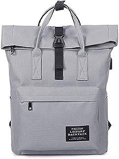 حقيبة ظهر للاب توب بها منفذ شحن يو اس بي، حقائب مدرسية للنساء والاولاد والفتيات والطلاب