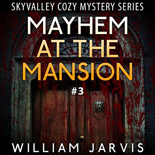 Mayhem at the Mansion audiobook cover art