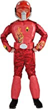 Rubie's Deluxe Flame Warrior Costume - Small (4-6)