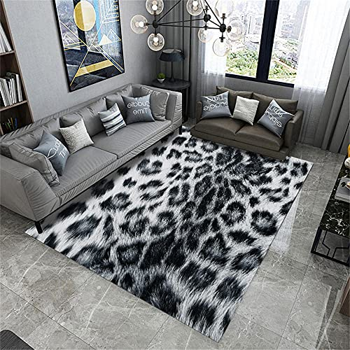 AU-OZNER mats for living room,Black and gray carpet soundproofed color moisture-proof office chair mat carpet,rug underlay -black_50x80cm