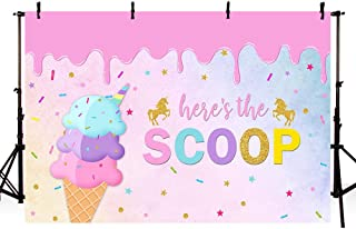 GoEoo 7x5ft Cartoon Photo Backdrops Cartoon Cakes Ice Cream Photography Backdrop for Children Themes Party Decor Room Mural LYZY0299