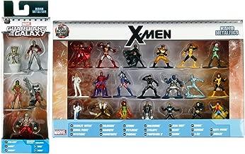 X-Marvel Figure 25 Collection X-men mini metal character set Wolverine / Storm / Cyclops / Phoenix / Colossus / Ice Man / Magneto / Rogue / Beast Super Hero + Guardians Groot / Rocket Raccoon Galaxy 5