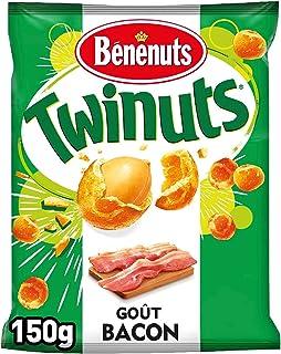 Benenuts Twinuts Goût Bacon Cacahuètes 150 g