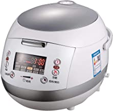 Rice Cooker Smart Stew Multi 5L Digital Food Programmable Steamer with Low Removal Sugar Grain Maker Stainless Steel Doubl...