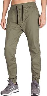 Pantalón Jogger Slim Fit para Hombre Casual Chino Jogging Algodón