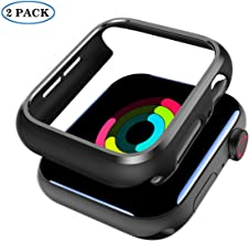 SPORTLINK Apple Watch Case 44mm for Series 4/ Series 5 - Shockproof Anti-Scratch Thin Bumper Matte Hard Cover Case for iWatch Series 4 2018/ Series 5 2019 Edition (2 Pack)