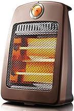 NFJ Mini Calentador De Ventilador, Calefactor Eléctrico, Calefactor De Baño,Portátil Personal para Cuarto/Baño/Oficina,Termoventilador Calefactor Portatil Aire Caliente Y Natural Apto,Brown
