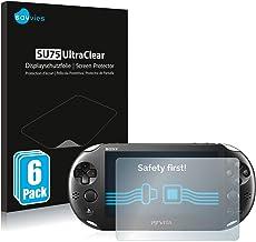 savvies 6-Pezzi Pellicola Protettiva Compatibile con Sony Playstation PS Vita Slim Protezione Schermo Trasparente