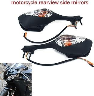 HDM products Halcyon 835 Embout extr/émit/é de guidon avec support miroir pour moto