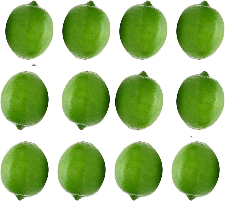 Discount is also underway JSJJEDC Artificial Fruit 12Pcs Set Fruits Fake Lemon Simulation Max 48% OFF