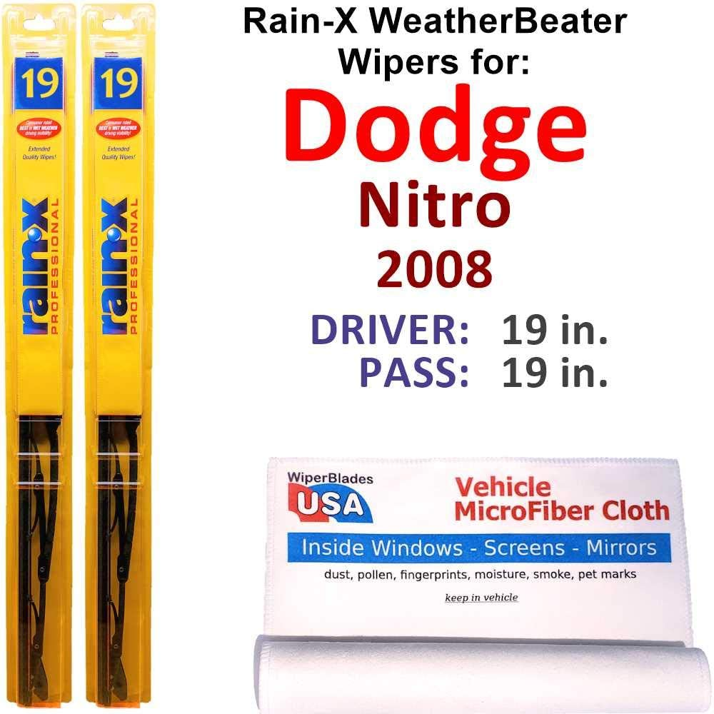 Rain-X WeatherBeater Wiper Blades for 2008 Dodge Rain- Set Nitro Animer and price revision We OFFer at cheap prices