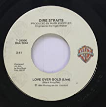 Dire Straits 45 RPM Money For Nothing / Love Over Gold (Live)