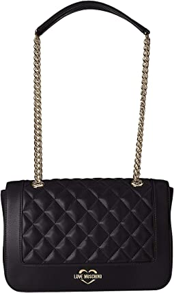 Super Quilted Shoulder Bag Chain Strap