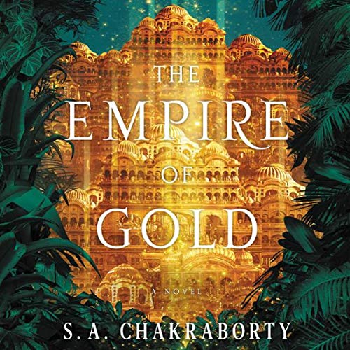 The Empire of Gold audiobook cover art