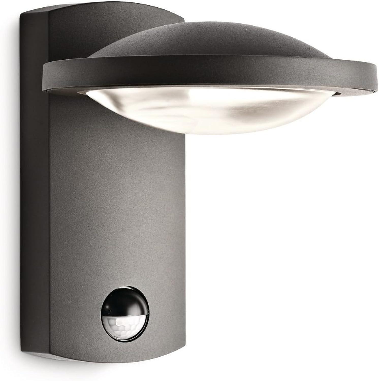Philips Ledino IR-LED-Wandaussenleuchte Freedom 1-flammig dimmbar mit Bewegungsmelder 3 W, anthrazit 172399316