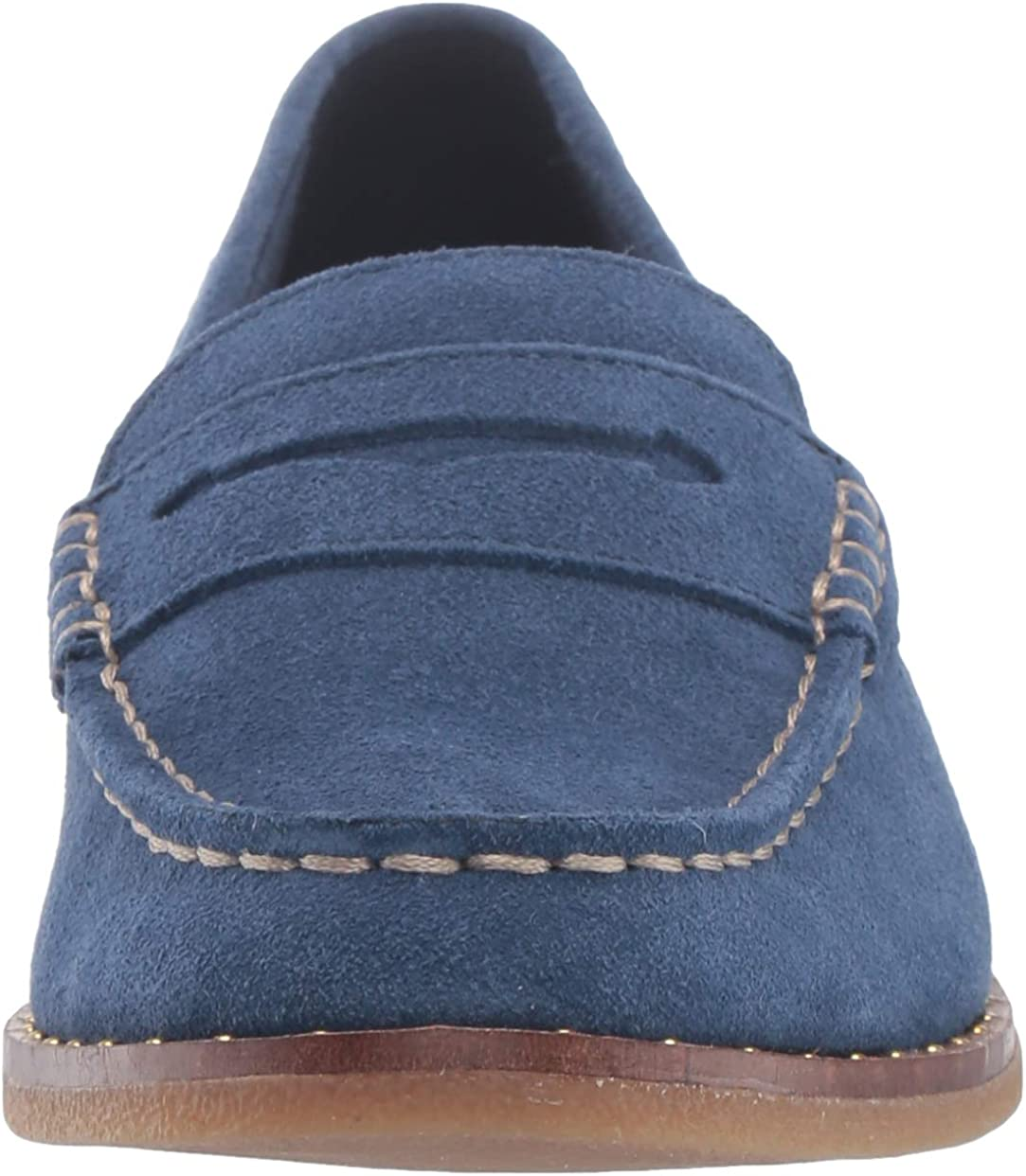 Sperry Womens Seaport Penny Stud Suede Shoe