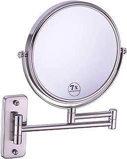 wall mounted makeup mirror 5x