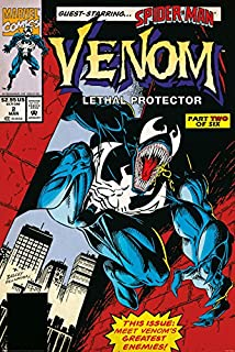 Venom - Marvel Comics Poster Print (Comic Cover - Lethal Protector) (Size: 24