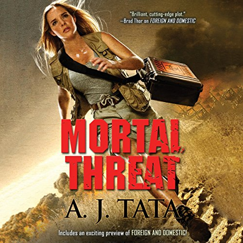Mortal Threat audiobook cover art