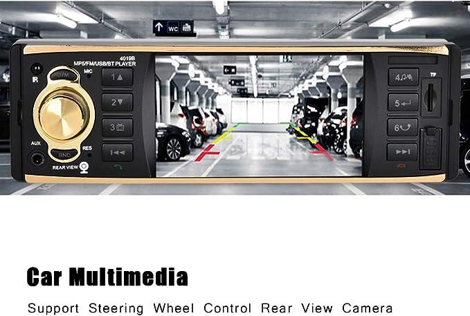 Car Audio Motors Socobeta Bluetooth Car Radio Car MP5 Player 4.1In ...