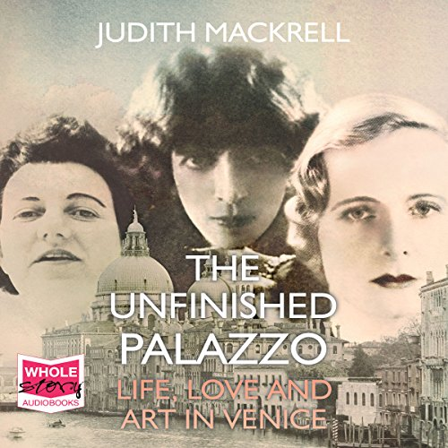 The Unfinished Palazzo audiobook cover art