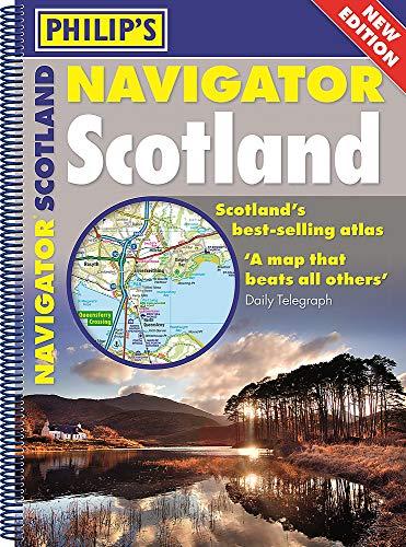 Philip's Navigator Scotland: (A4 Spiral binding) (Philip's Road Atlases)