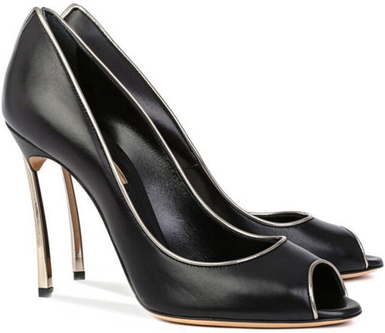 Miyoopark LS0626 Women's Peep Toe Lambskin Fashion Dress Sandals