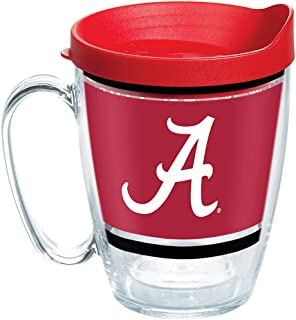 Tervis 1257546 Coffee Mug With Lid, 16 oz, Clear