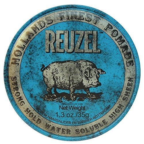 REUZEL Hair Pomade Piglet, Blue, 1.3 oz by REUZEL by Reuzel