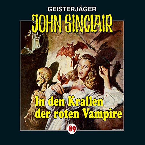 In den Krallen der roten Vampire (John Sinclair 89) Titelbild