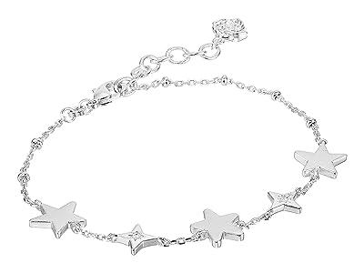 Kendra Scott Jae Star Delicate Chain Bracelet (Rhodium Metal) Bracelet