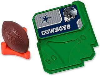 CAKEMAKE NFL Football & Tee, Cake Topper, Dallas Cowboys
