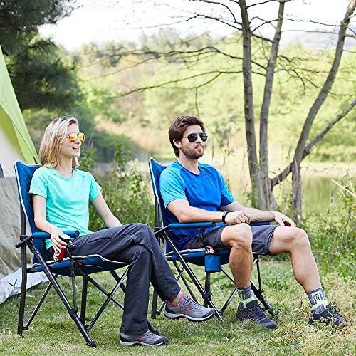 Timber Ridge Camping Chair 400lbs Folding